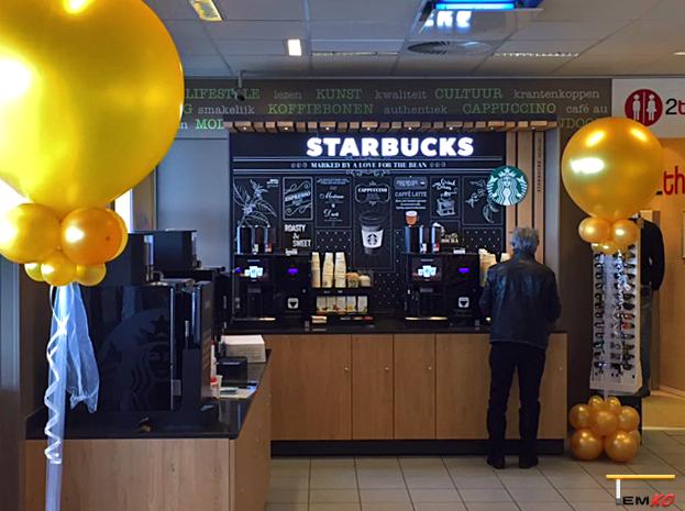 TEMKO Starbucks-balie